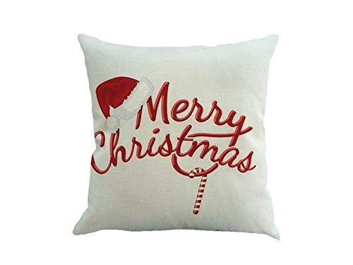 Yter Buon Natale biancheria cuscino federa camera cuscino auto cuscino