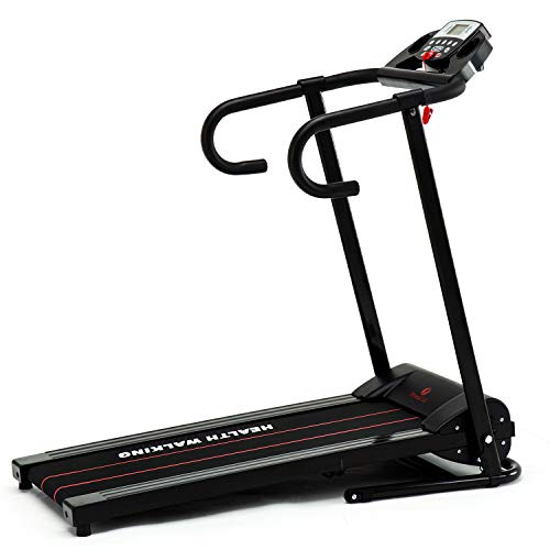 Buy Discount Fitnessclub Folding Treadmill, 1100W 1.5 PH Electric Motorized Running Walking Jogging ...