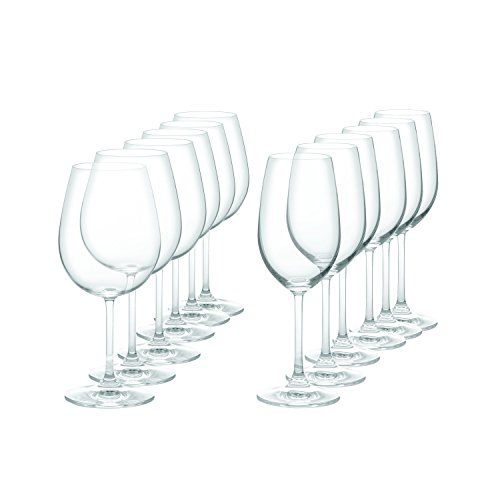 Marquis by Waterford Vintage Drinkware Set, Set of 12 (Red And White Wine Glasses compare prices)