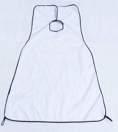 a11da52b0a90 galaksy White   73   116cm Nylon Shaving Cloth Catcher Shave Apron Gather  Hair Cape Household Cleaning Tools Accessories Supplies Stuff Products   Amazon.in  ...