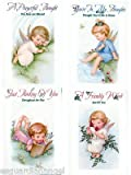 Little Angels Thinking of You Religious Greeting Cards