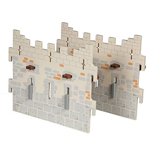Papo Set 4 Weapon Master Castle (2 Large Walls)