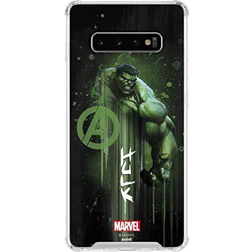 Amazon.com: Skinit Hulk is Ready Galaxy S10+ Clear Case ...