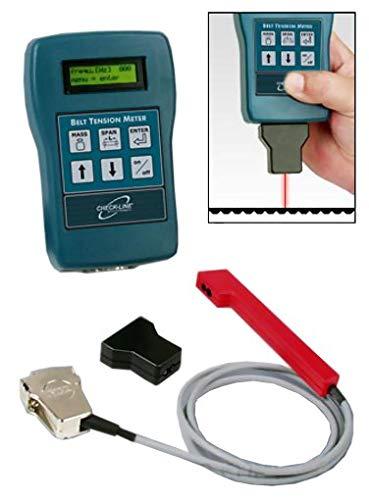 BTM-400Plus Belt Tension Meter / Trummeter, Range 3 - 800 Hz