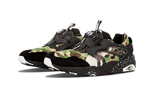 Puma Disc Blaze X Bape Baskets Motif camouflage