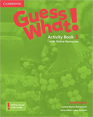 Book Guess What! Level 3 Activity Book with Online Resources British English