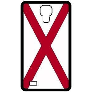 Alabama AL State Flag Black Samsung Galaxy S4 i9500 Cell Phone Case - Cover