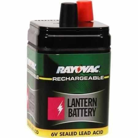 (Rayovac 6V Rechargable Lantern Battery)