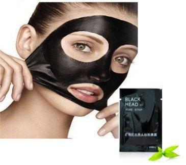 Kit de qualité de soins de la peau sertie 6pcs noir chefs et enlever l'acné / visage Pores profond nettoyage / purification Facial Peel Off masques de VAGA