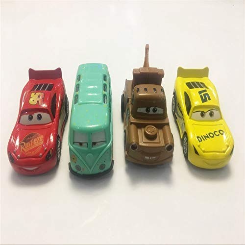 (Disney Disney Series Pixar Cars 3 Storm Cars 3 Mater Vehicle 1:55 Diecast Metal Alloy Toy Car Figures Children Toys Gifts 1pcs Random delivery )