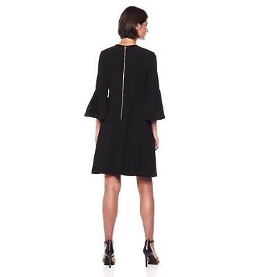 Gabby Skye Women's Bell Sleeve Dress at  Women's Clothing store