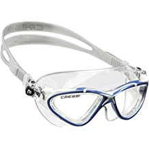 Cressi SATURN CRYSTAL, Adult Swimming Goggle with 100% High Quality Silicone That Will Not Discolor - Cressi: 100% Made in Italy Since 1946