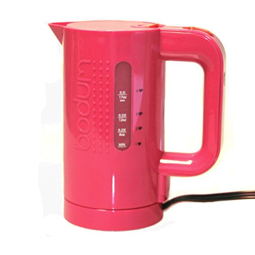 Bodum Bistro Red 17 Ounce Electric Water Kettle