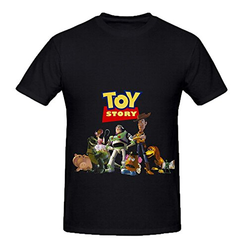 Randy Newman Toy Story Jazz Men O Neck Slim Fit Tee Black