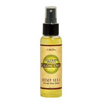 Earthly Body High Tide Massage Oil, 2 Ounce
