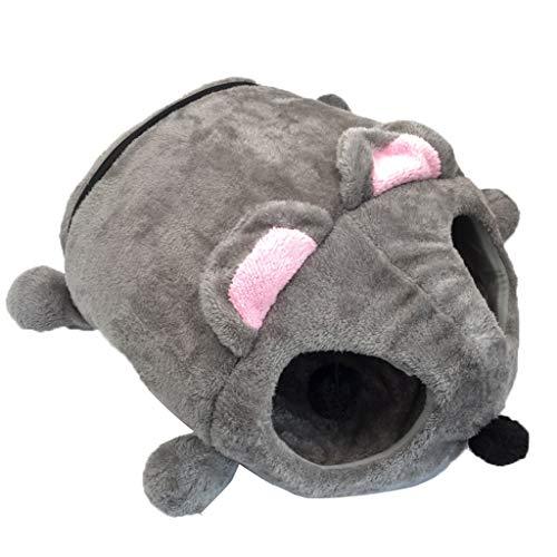 HHL Nido del Animal Doméstico Casa Caliente Mascota Gato Litter Mascota Lindo Ratón Forma Inferior Impermeable