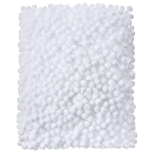 Shappy 2000 Pieces 6 mm PomPoms for Crafts