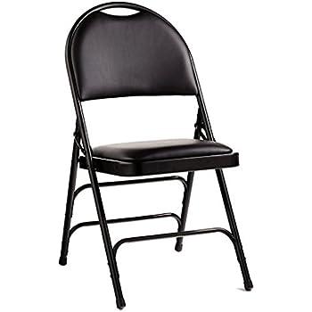 Amazon Com Samsonite 57311 Folding Chair 4 Pack Neutral
