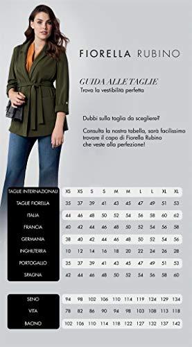 Blu Plus Rubino Invernale Cintura Piumino Con Size italian Fiorella 1c8TvOBT