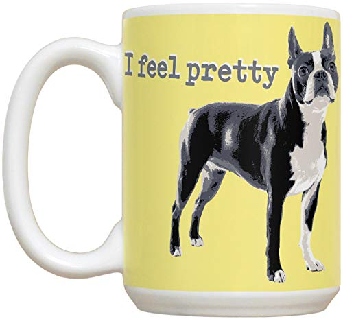 Ceramic Boston Terrier - Boston Terrier 15oz Large Ceramic Mug |