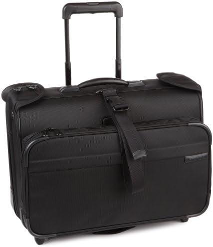Briggs & Riley Baseline-Softside 2-Wheel Garment Bag, Black