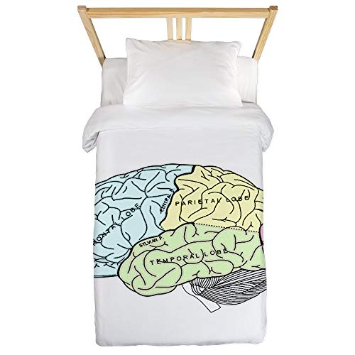 CafePress Dr Brain Lrg Twin Duvet Twin Duvet Cover, Printed Comforter Cover, Unique Bedding, Microfiber