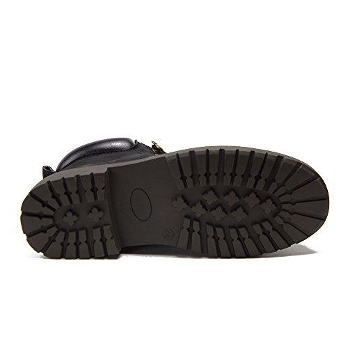 Tuff Heren Comfortabele Ademende Enkel Hoge Werkschoenen Zwart
