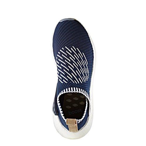 Adidas Schuhe NMD_CS2 Primeknit Herren collegiate navy-footwear white-pale nude (BA7189), 43 1/3, blau
