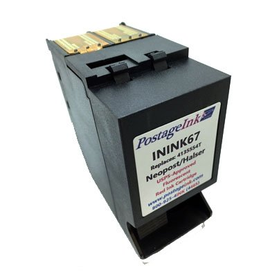 Neopost #ININK67 Red Ink Cartridge for Neopost IN600AF, IN600HF, IN700, IN750