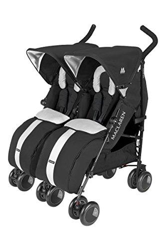 Amazoncom Maclaren Twin Techno Stroller Black Tandem Strollers