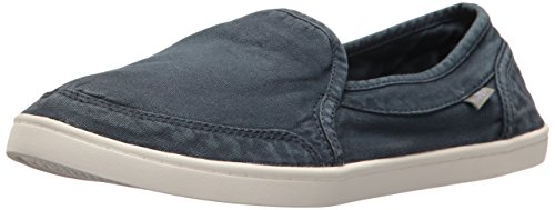 Sanuk Women's Pair O Dice Flat, Navy, 8 M US by Sanuk
