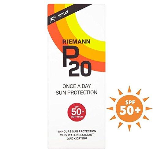 Riemann P20 Spf50 + 1 Jour / 10 Heures De Protection 200Ml (Lot de 6)