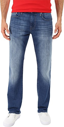 Mavi Jeans Men's Zach Classic Straight Leg In Dark Aqua Dark