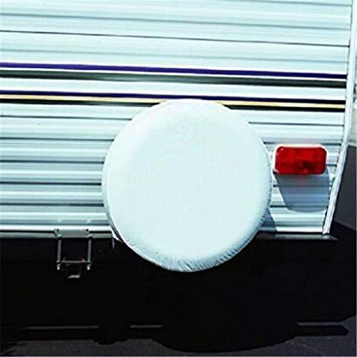 Bingo Point 1Pcs Car Pure White 13'',14'', 15'',16'',17'',18'' inch PVC PU Spare Tire Tyre Wheel Valve Cover Wheels Accessories by Bingo Point (Image #3)
