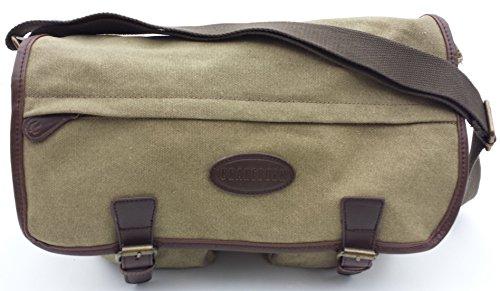Brakeburn Classic Messenger  Borsa Messenger, 40 cm, Tan