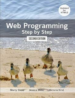 Web Programming Step by Step