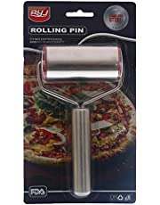 RYJ YR-1873 Stainless Steel Rolling Pin With Handle