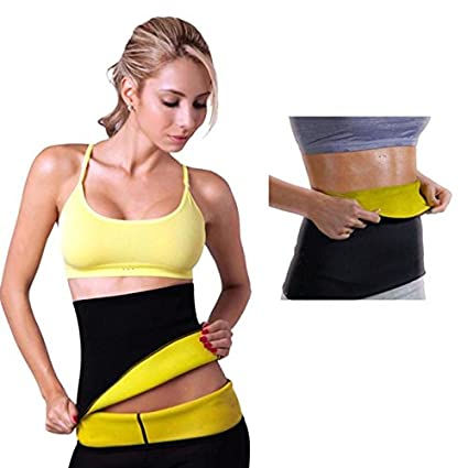 d010131aa9 Buy MSE Hot Neoprene Waist Shapers Super Stretch Waist Belt Slims Corset  Waist Straps For Men   Women (Size 5XL) Online at Low Prices in India -  Amazon.in