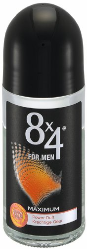 8x4 Maximum Deo Roll-on, 3er Pack (3 x 50 ml)