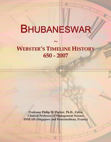 Bhubaneswar: Webster's Timeline History, 650 - 2007