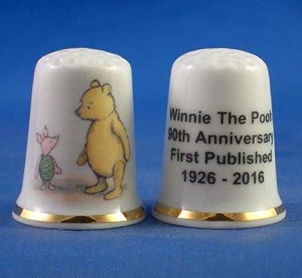 Winnie the Pooh and Friends Set of Three Birchcroft Thimbles