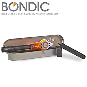 Bondic,Repair Anything! Better Than Glue! Waterproof, Heat Resistant, Made In USA! Up To 100 Fixes! The 1st Liquid Plastic Welder! Bond, Build, Fix & Fill Anything In Seconds! (Bondic Starter Kit)