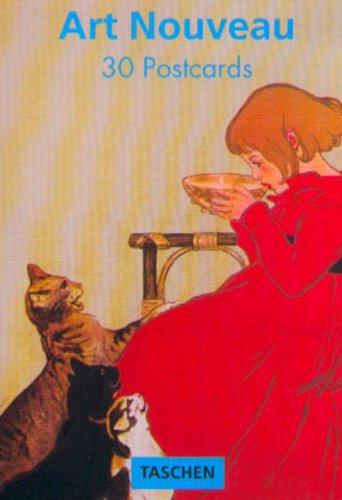 Art Nouveau Postcards (Art Nouveau Postcard Book)