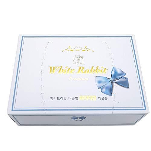Makeup Cleansing Sheet - White Rabbit Cosmetic Cotton Sheets Premiun - 100pcs
