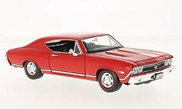 Chevrolet Chevelle Ss 396 Rot 1968 Modellauto Fertigmodell