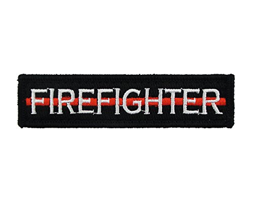 Firefighter Velcro Embroidered Morale Tags