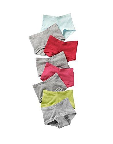 Hanes Girls Cotton Boy Short (Hanes Girls' Cotton Boy Short Panties 8-Pack, Assorted, Size -)