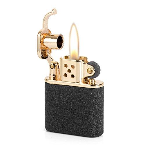 Pure Copper Antique Style Lift Arm Oil Petrol Metal Cigarette Lighter - Cigarette Style Lighter