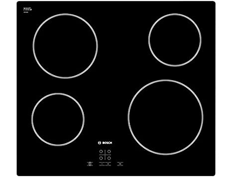 Bosch PKE611D17E Incasso Ceramic hob Nero piano cottura: Amazon.it ...