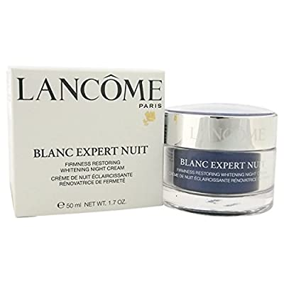 Lancome Blanc Expert Nuit Firmness Restoring Whitening Night Cream for Unisex, 1.7 Ounce